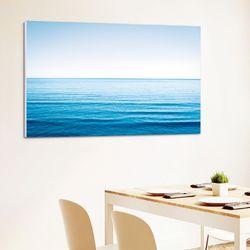 캔버스액자 자연 세렝게티 푸른바다 A타입 25x25cm