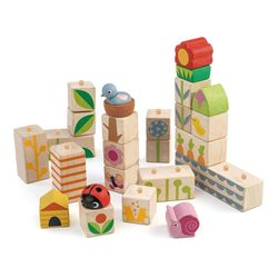 텐더리프 아장아장 정원가꾸기 쌓기 블록