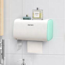 욕실수납 더블 휴지 디스펜서(그린)