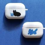 Airpod pro case 에어팟 프로 케이스 2종 뭉개 털실 고양이