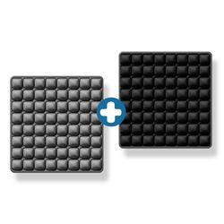 8x8 3D 입체엠보싱 바른자세 에어쿠션방석 2개기획