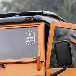로고 방수 데코 자동차 스티커