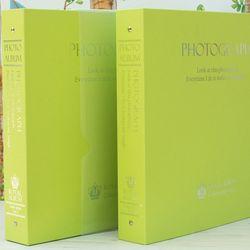 Color Album Ver.3 대용량 사진앨범 접착포켓 LIME