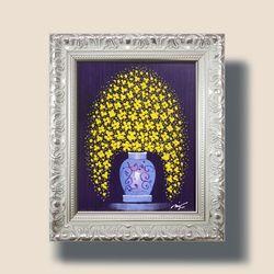 꽃피는향기 꽃그림 그림액자 인테리어액자 3호고급