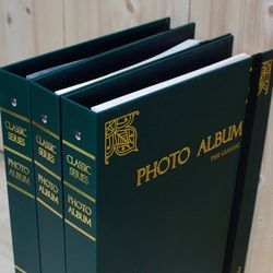 CLASSIC ALBUM 대용량 바인더앨범 접착or포켓 카키