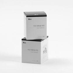 먼지싹 점착식 청소포 리필 2팩 (60매입x2)