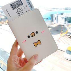 삐유&포리 캐릭터 여권케이스