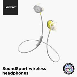 [BOSE] 보스 정품 SoundSport 블루투스 이어폰 헤드셋