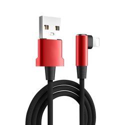 라이트닝8핀 엘보우 킹 라인 USB 케이블 C024