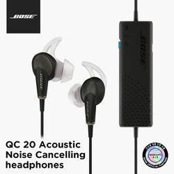 BOSE 보스 정품 QC20 Android용 노이즈캔슬링 이어폰
