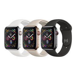 [Apple] 애플워치 S4 44mm 스테인리스 스포츠밴드(GPS+CELLULAR)