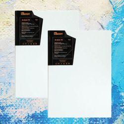 아티스트 레인저캔버스 A4 사이즈 2개세트 고급캔버스 왁구