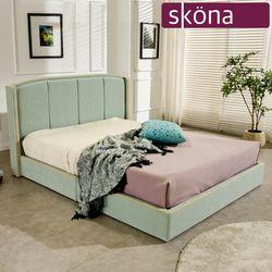 코도바 이지클린 패브릭 킹 침대(매트 별도)