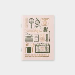Travel Tools Collection 트래블러스노트 Refill note 패스포트