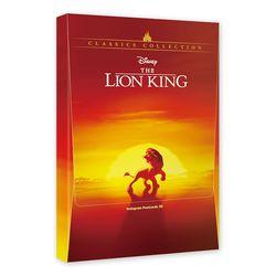 디즈니 라이온 킹 홀로그램 엽서북(30장)
