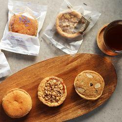 [무료배송] [소울베이커리]호두+블루+모카+피자파이 (각각5개)