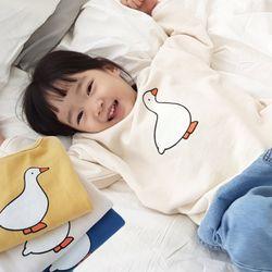꿈꾸는아이 오리 맨투맨 티셔츠 2컬러 택1아동복