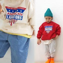 꿈꾸는아이 아메리칸 맨투맨 티셔츠 2컬러 택1아동복