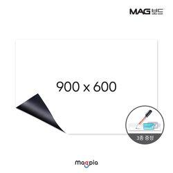 고무자석 화이트보드 (W900XL600)