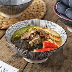 일본품 도자기 우동식기 면기 그릇 1p