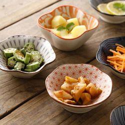 일본풍 도자기 찬기 반찬 접시 종지 소스용기 D형 1p