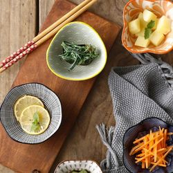 일본풍 도자기 찬기 반찬 접시 종지 소스용기 A형 1p
