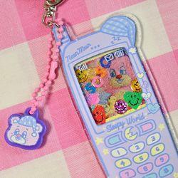 SLEEPY WORLD Teddys Phone Key Holder