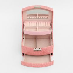 루니아 3단 액세서리 보석함(핑크)