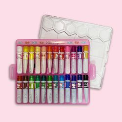 헬로키티 24색 수채화그림물감