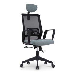 812 BLACK FRAME HEAD 사무실 학생 책상 의자
