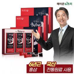 박경호의 홍삼활력스틱 3박스(90포)+쇼핑백3매