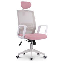 812 WHITE FRAME HEAD 사무실 학생 책상 의자