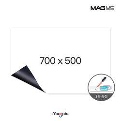 고무자석 화이트보드 (W700XL500)