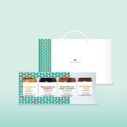 샐러드보울 수제 과일청 4종 선물세트