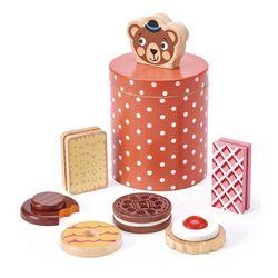 [텐더리프]곰돌쉐프 비스킷 상자