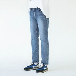 KEEP STRAIGHT JEANS (BLUE)