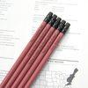 메시지 각인 - Rust Red 원목연필 5본세트