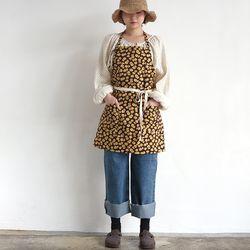 daisy short apron