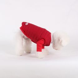 퀄팅 패딩 베스트 Quilting padding vest Red
