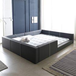 둥지 저상형 패밀리침대 S+S 침대프레임