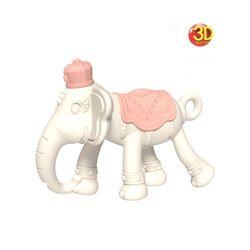 앙쥬 3D 코끼리 치발기