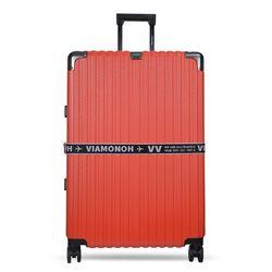 비아모노 VAIF 9037 레드 30인치 하드캐리어 여행가방
