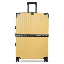 비아모노 VAIF 9037 옐로우 30인치 하드캐리어 여행가방