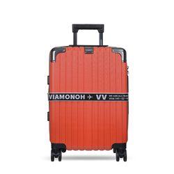 비아모노 VAIF 9035 레드 20인치 하드캐리어 여행가방