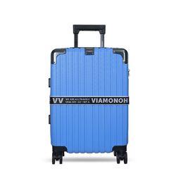 비아모노 VAIF 9035 블루 20인치 하드캐리어 여행가방