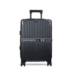 비아모노 VAIF 9035 다크실버 20인치 하드캐리어 여행가방
