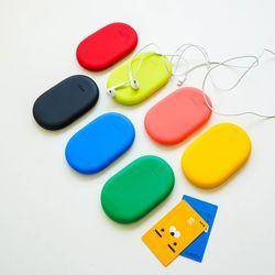 [쏭스디자인] 실리콘스토리 멀티미니파우치 다용도 명함카드지갑