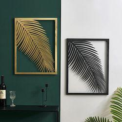 아파트32 홈 골드 철제 보타니컬 액자 대형 식물 월데코 벽장식