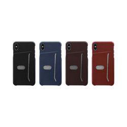 아이폰XS 지문 방지 심플 컬러 커버 하드 케이스 P103