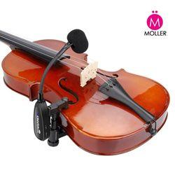 바이올린 무선 핀마이크 무선마이크 연주회 공연